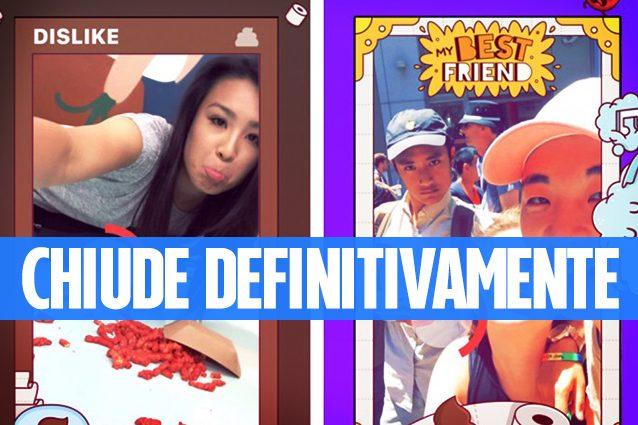 Facebook chiude Lifestage, l'app per i giovani nata per contrastare Snapchat