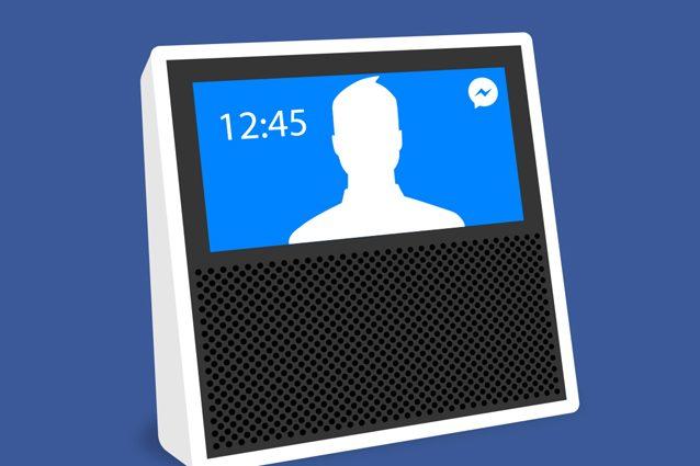 Facebook sviluppa un nuovo dispositivo per le videochiamate ed uno smart speaker solo audio