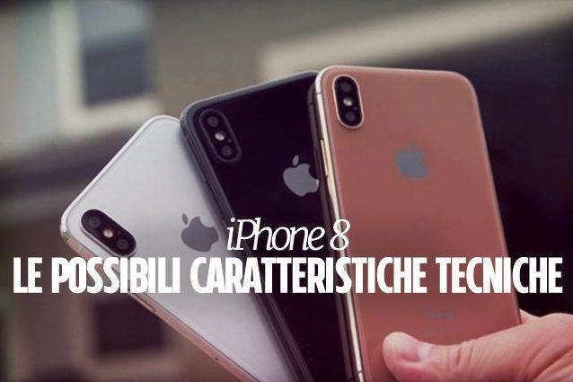 iPhone 8, in arrivo una versione con 512 GB di memoria interna e 3 GB di RAM