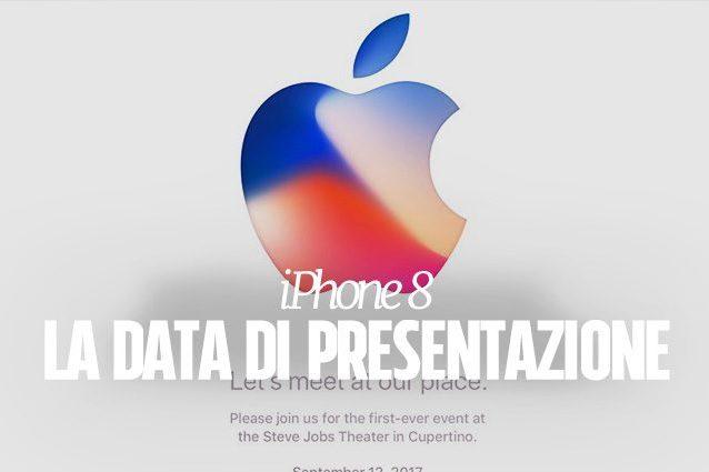 iPhone 8, Apple conferma la data di presentazione