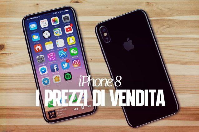 iPhone 8, i (possibili) prezzi di vendita dei nuovi smartphone Apple