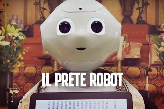 Pepper, il prete-robot che celebra i funerali