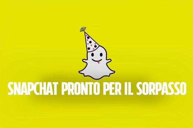 Snapchat è il social preferito dai ragazzi, calano i giovani su Facebook
