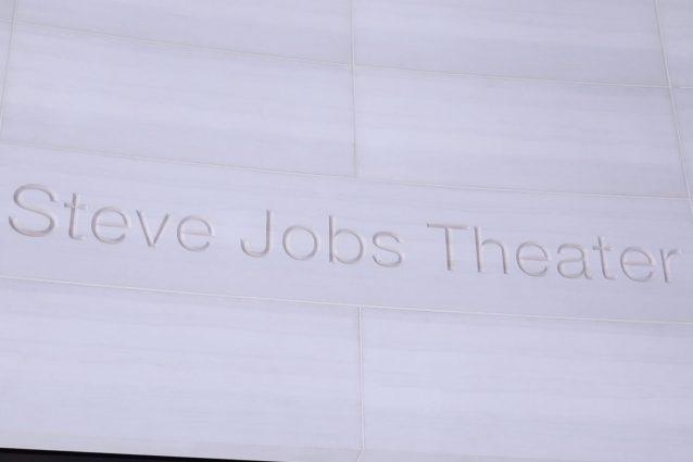 Le prime immagini dall'interno dello Steve Jobs Theater