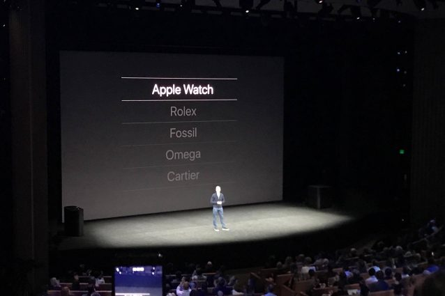L'Apple Watch è l'orologio più venduto al mondo