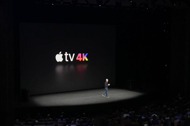 Apple presenta la nuova Apple TV: arriva il supporto al 4K