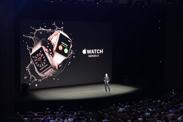 Apple presenta Apple Watch serie 3: si connetterà alla rete cellulare