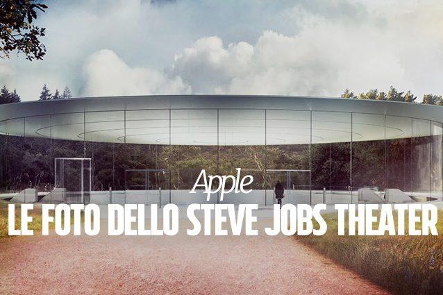 Steve Jobs Theatre, le prime foto dell'auditorium Apple in attesa della presentazione dell'iPhone 8