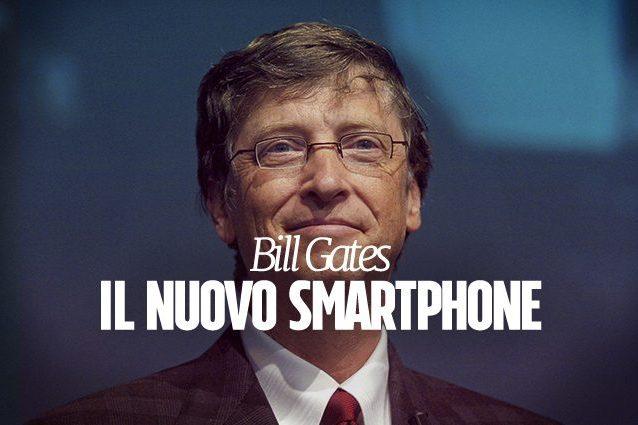 Bill Gates usa uno smartphone Android