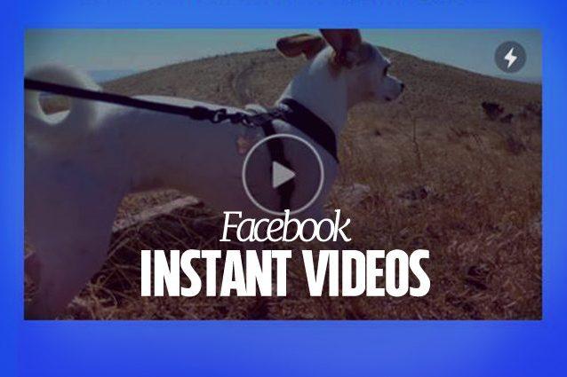 Facebook testa gli Instant Videos: la nuova funzionalità per pre-caricare i video sotto rete WiFi