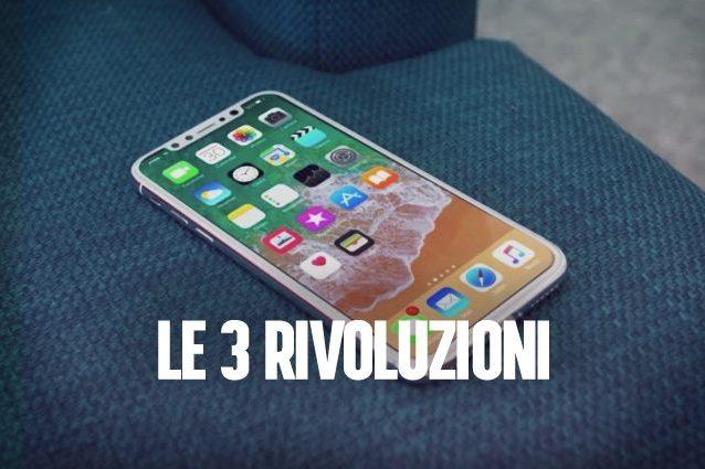 L'iPhone 8 e le 3 rivoluzioni che cambieranno il mercato degli smartphone