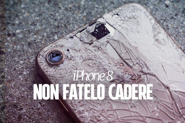 Il vetro posteriore dell'iPhone 8 è più costoso da riparare rispetto a quello frontale