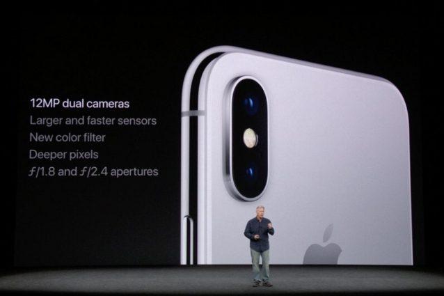 iPhone X: la nuova fotocamera con doppio stabilizzatore ottico