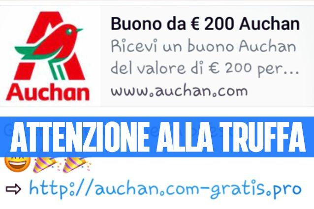 Buono spesa Auchan, attenzione alla truffa su WhatsApp: attiva abbonamenti a pagamento