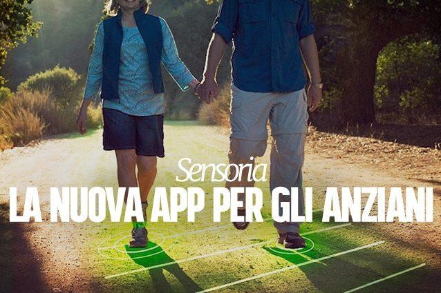 Sensoria, la nuova app che previene le cadute degli anziani