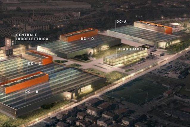 A Bergamo arriva Aruba: è il più grande data center d'Italia