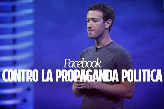 Facebook assumerà mille nuove persone per combattere la propaganda politica illegittima