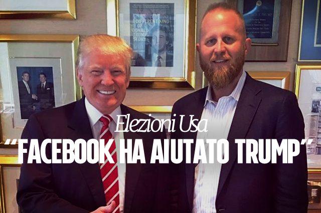Facebook, per Brad Parscale i dipendenti del social network hanno favorito la vittoria di Trump