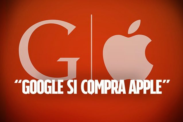 Google ha comprato Apple, ma solo per il Dow Jones