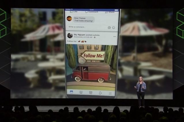 Su Facebook arrivano i post in 3D