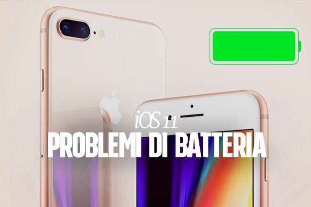 iOS 11.1, il prossimo aggiornamento dell'iPhone risolverà i problemi della batteria