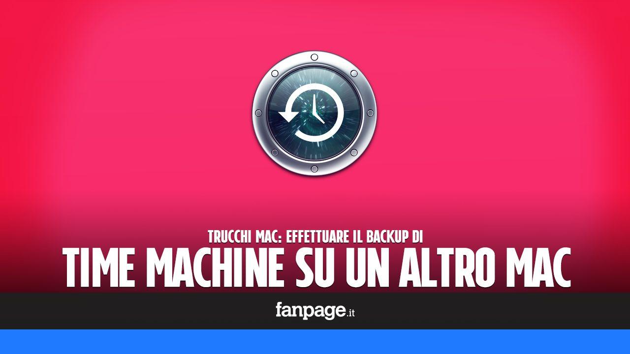 Trucchi Mac: fare il backup del Mac senza hard disk esterno