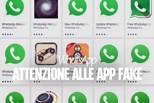 WhatsApp, attenzione alle (numerose) app fake sul Google Play Store