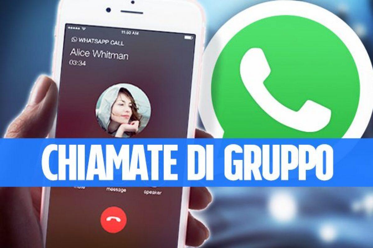 Le chiamate di gruppo su WhatsApp sono ufficiali: nuovo ...