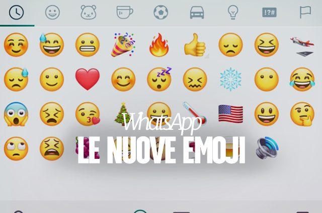 Installare la beta di whatsapp con le nuove emoji for Nuove immagini per whatsapp