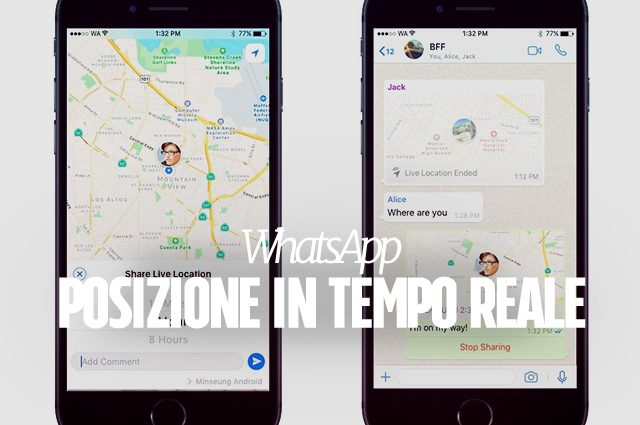 WhatsApp si aggiorna e introduce la condivisione in tempo reale degli spostamenti: ecco come funziona
