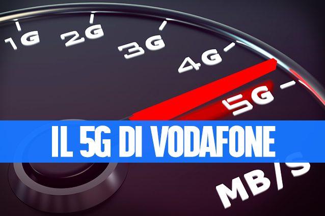 Vodafone, nuovo primato nel 5G