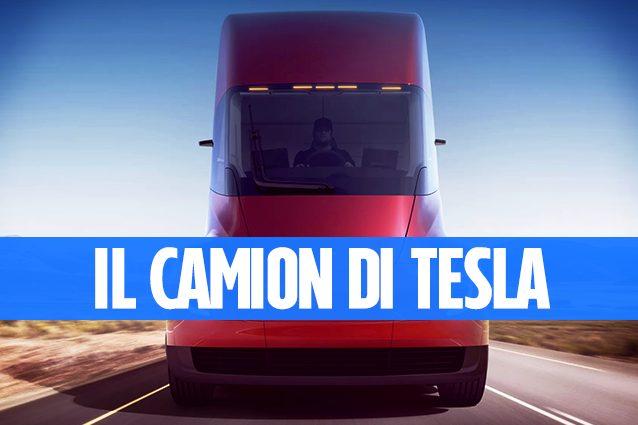 Tesla vuole rivoluzionare il trasporto pesante su strada: presentato il Semi Truck