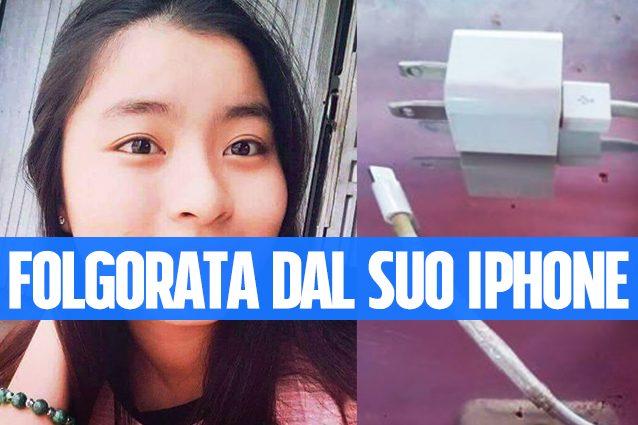 Cavo dell'iPhone danneggiato: muore folgorata 14enne vietnamita