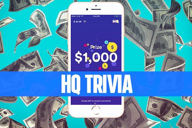 HQ Trivia, il gioco dei creatori di Vine che permettere di vincere soldi veri