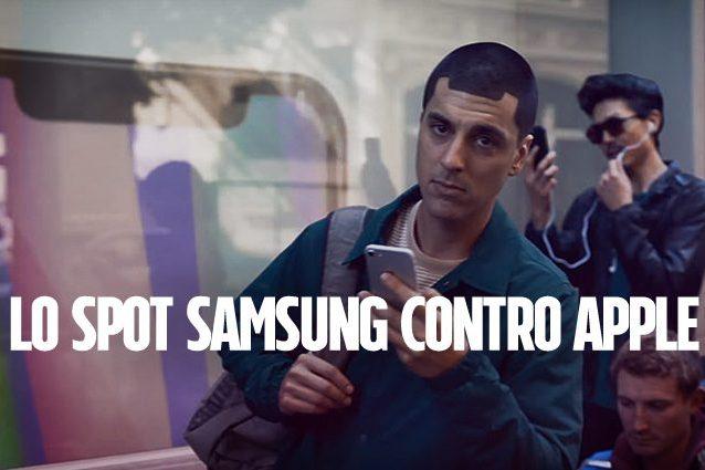 Samsung realizza uno spot contro Apple (e prende in giro i suoi fan)