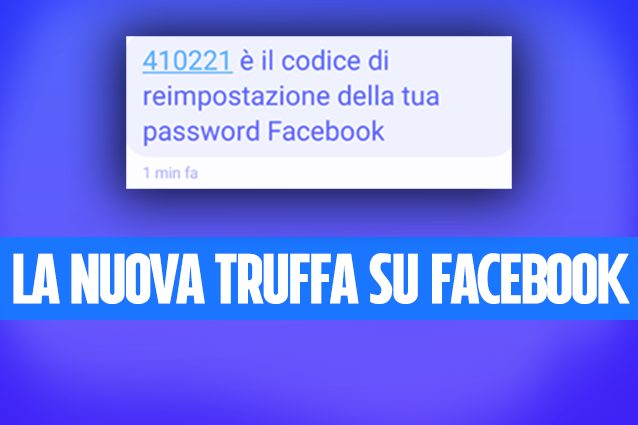 SMS per cambiare username e password: la nuova truffa su Facebook