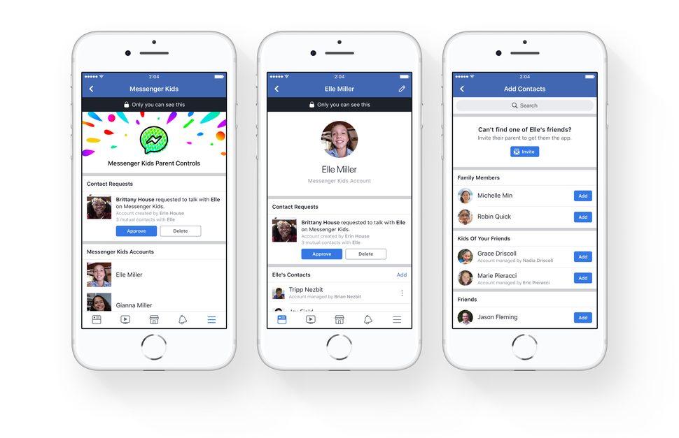 Facebook apre le porte ai bambini: ecco Messenger Kids!