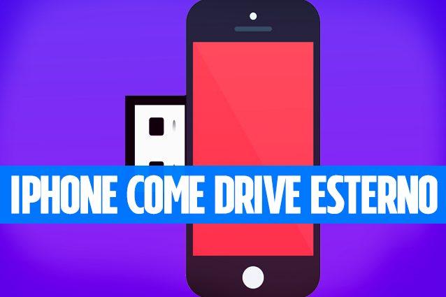 Usare iPhone e iPad come una chiavetta wieless o un hard disk