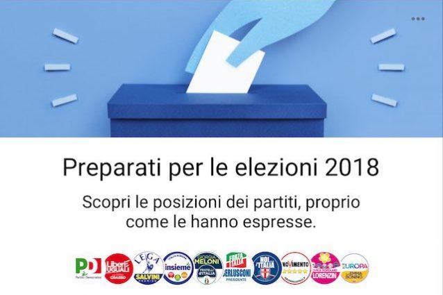 Punti di vista, lo strumento di Facebook per informare gli utenti sulle elezioni politiche