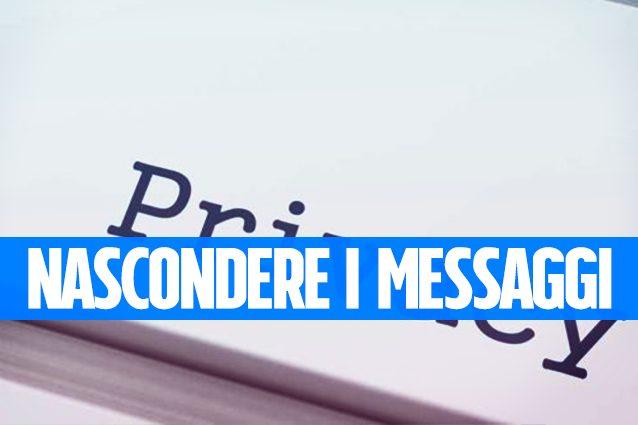 Inviare messaggi segreti nascondendo un testo (o un file) nelle foto