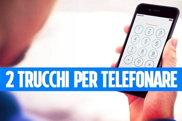 Due trucchi per telefonare con iPhone che sicuramente non conosci