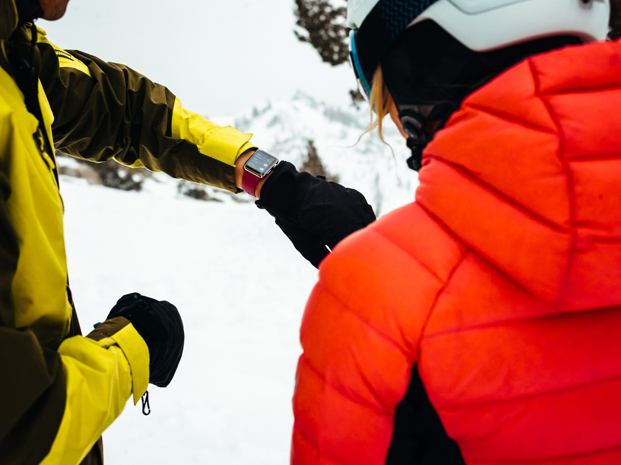 Ora l'Apple Watch registra l'attività su sci e snowboard
