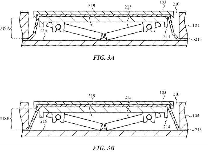 Apple ha brevettato una tastiera resistente alle briciole