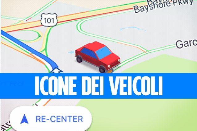 Come cambiare l'icona di navigazione in Google Maps