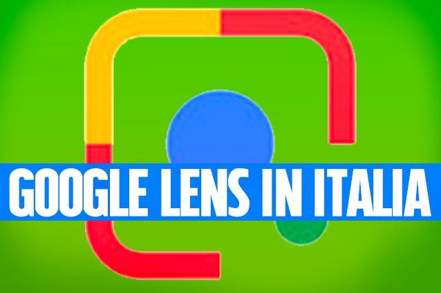 Google Lens disponibile in Italia: come attivare il riconoscimento delle immagini