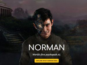 Norman, la prima intelligenza artificiale psicopatica