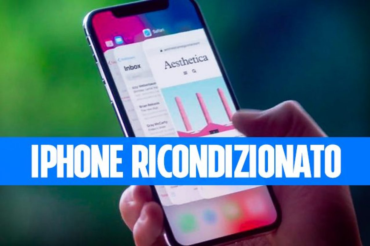 capire se un iphone è rigenerato