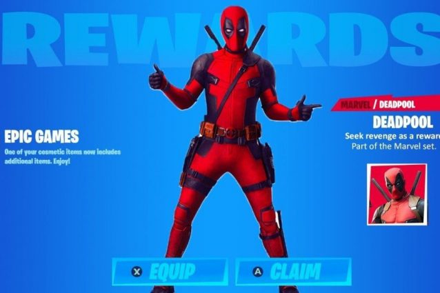 Come sbloccare la skin di Deadpool in Fortnite
