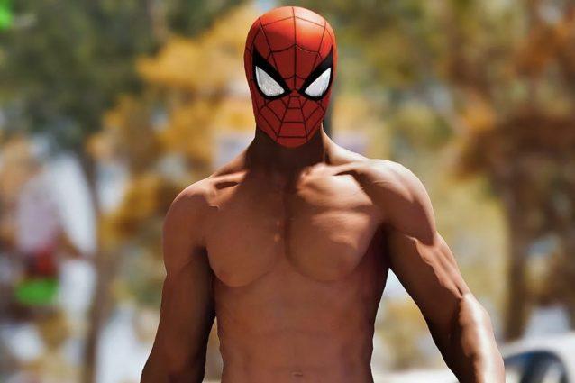 La strana storia dei capezzoli di Spider Man nel videogioco