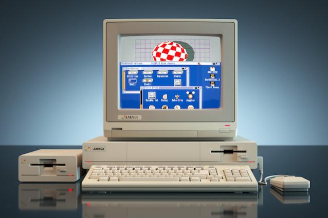 Commodore Amiga 1000 30 anni